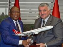 FREKANS - Gine Ulaştırma Bakanından, THY Genel Müdürü Bilal Ekşi'ye Ziyaret