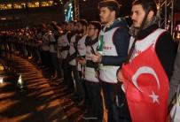 MEHMET AKTAŞ - KBÜ'de 'Şehidim, Bu Gece Nöbet Bizde' Etkinliği