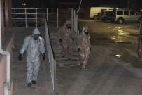 KİMYASAL SALDIRI - Kimyasal Saldırı Şüphesiyle Kilis'e Getirilen 2 Suriyeli KBRN Kontrolünden Geçirildi