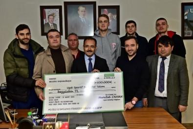 MB Uşak'a 500 Binlik Destek