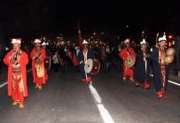 TÜRK BAYRAĞI - Mersin'de Mehterli, Fener Alaylı Zafer Yürüyüşü