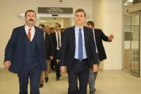 Müsteşar Gümüş, Isparta Şehir Hastanesi'ni İnceledi