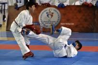 CENNET - Okullararası Gençler Karate Müsabakaları Gümüşhane'de Başladı