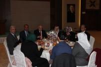 Şehit Aileleri Yemekli Toplantıda Kırşehir Protokolü İle Bir Araya Geldi