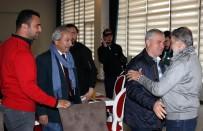 AHMET MEKİN - Yeşilçam Yıldızı Mekin, Antalyaspor'u Ziyaret Etti