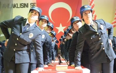 Aksaray'da 761 Polis Mesleğe İlk Adımını Attı