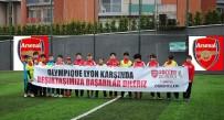 ARSENAL - Arsenal Futbol Okulu Öğrencilerinden Beşiktaş'a Destek