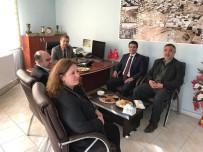 EMNİYET TEŞKİLATI - Emniyet Müdürü Alper'den Kent Konseyine Ziyaret