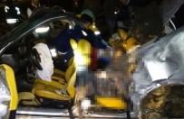 CENAZE ARACI - Konya'da Korkunç Kaza Açıklaması 2 Ölü, 2 Yaralı
