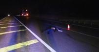 YOLCU OTOBÜSÜ - Konya'da Yolcu Otobüsü Yayaya Çarptı Açıklaması 1 Ölü
