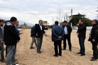 YÜRÜYÜŞ YOLU - Nazilli Belediyesi Yol Hamlelerine Devam Ediyor