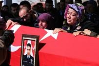GÖZYAŞı - Şehit Polis Memuru Gözyaşları Arasında Toprağa Verildi