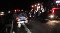 SILIVRI DEVLET HASTANESI - TEM Otoyolunda Feci Kaza Açıklaması 1 Ölü, 1 Ağır Yaralı