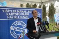 YILDIRIM BELEDİYESİ - Yıldırım Belediyesi'ndeen Yiğitler Mahallesi'ne Yeni Park