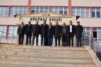 AK Parti Heyeti Referandum Çalışmalarına Devam Ediyor