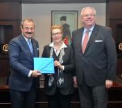 SANI KONUKOĞLU - Almanya Büyükelçisi Martın Erdmann GSO'yu Ziyaret Etti