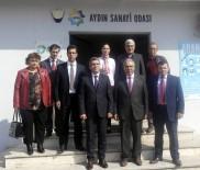 KAYITDIŞI - Aydın Vergi Dairesinden AYSO'ya Vergi Haftası Ziyareti