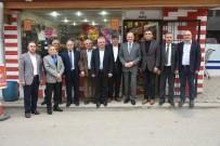 MEHMET KELEŞ - Başkan Keleş, İlçe Ziyaretlerini Sürüyor