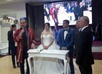 KıZıLDERE - Başkan Sözlü, Adaşının Nikahını Kıydı