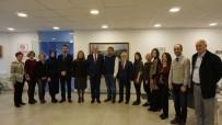 ECZACI ODASI - Başkan Ünlü'den Eskişehir Eczacı Odasına Ziyaret