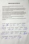 TAŞKıRAN - Bucasporlu Futbolculardan 'Başkan Kayışlı'yı İstemiyoruz' Açıklaması