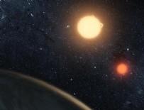Çift güneşin yörüngesinde gezegen enkazı keşfedildi