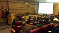 KAPALI ALAN - İkram Sektörüne Ait İşletmelere Yönelik Bilgilendirme Toplantısı