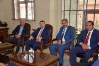 KıZıLDENIZ - Karaman Belediye Başkanı Ertuğrul Çalışkan'dan Siverek Belediyesine Ziyaret