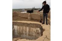 Kızıltepe'de Ahır Çöktü