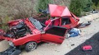 GÖKOVA - Kontrolden Çıkan Otomobil Tıra Çarptı Açıklaması 1 Ölü
