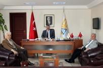 İSMAİL KARAKULLUKÇU - Şair Müftüoğlu'ndan Başkan Karakullukçu'ya Ziyaret