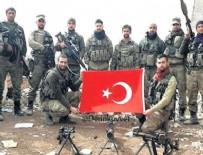 KOMANDO TUGAYI - Türk askerinden fotoğraflı gönderme