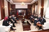 HÜSEYIN SÖZLÜ - Türk Dünyası'ndan Başkan Sözlü'ye Ziyaret