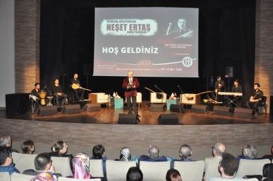 Ustalara saygı konseri 'Neşet Ertaş' anma programı