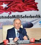 AŞKALE ÇIMENTO - Vali Azizoğlu'dan Başkan Yücelik'e İstihdam Teşekkürü