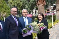 ÖZERK ÖZCAN - Vali Güvençer'den Kaymakam Özcan'a Ziyaret
