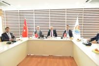 MALİ MÜŞAVİR - Vali Karaloğlu, AOSB Müteşebbis Heyeti Aylık Olağan Toplantısına Katıldı