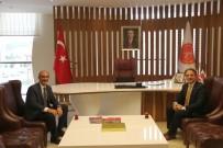 KARAKAYA - Ahi Evran Üniversitesi Rektörü Karakaya'dan Rektör Bağlı'ya Ziyaret