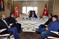 YOZGAT - AK Parti Yozgat İl Teşkilatından, MHP İl Başkanlığına Ziyaret