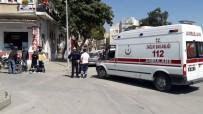 İLK MÜDAHALE - Ambulans Çarptığı Sürücüye Müdahale Etti