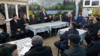 KARAKÖY - Başkan Yalçın, Referandum Çalışmalarına Devam Ediyor