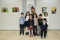 RESIM SERGISI - Çocuk Ressamlardan Karma Resim Sergisi