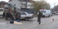 İŞÇİ SERVİSİ - Domaniç'te Trafik Kazası Açıklaması 1 Ölü 13 Yaralı