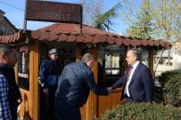GÜNAY ÖZDEMIR - Edirne Valisi Özdemir'den Taksi Esnafına Ziyaret