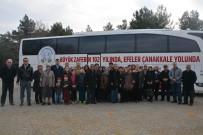 MESUT ÖZAKCAN - Efeler Belediyesinin Çanakkale Gezileri Sona Erdi