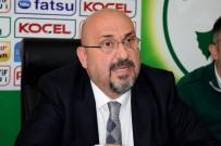GIRESUNSPOR - Giresunspor Kulüp Başkanı Mustafa Bozbağ Eleştirilere Yanıt Verdi