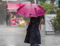 YAĞMURLU - Hava durumu 20.03.2017