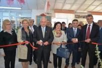 Huzurevi'nde Hat Ve El Sanatları Sergisi Açıldı