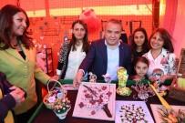 HEDİYELİK EŞYA - Konyaaltı'nda Kadın El Emeği Pazarı Açıldı