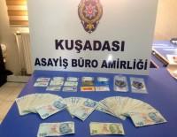 KREDI KARTı - Sahte Kredi Kartı Çetesi Kuşadası'nda Yakalandı